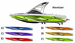 Atomizer - Boat Wrap Design 3M IJ180 Cast Vinyl Film Wakeboarding Decal