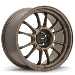Konig Hypergram 17x8 +45 5x112 Race Bronze (Set of 4)