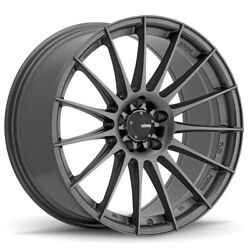 Konig Rennform 17x8 +45 5x112 Matte Grey (Set of 4)