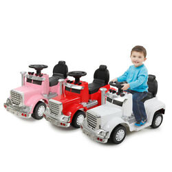 6V Kids Ride On Car With Toddler Drive able Licensed MP3 LED Light Toy Gift $39.99
