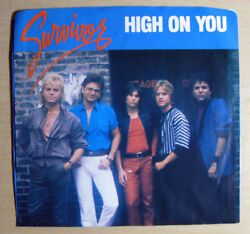 Survivor – High On You 45 RPM EX+ 7