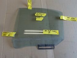 1997 ford escort tracer 4dr left rear back driver side door glass window 785r6-1
