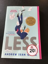 Less : A Novel by Andrew Sean Greer (2018 Paperback)- New Shelf Pulls