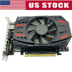 4GB Graphics Card GTX 1050Ti Cooling Fan Host Computer Components Card Dual Fan