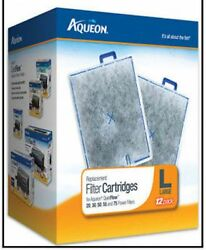 AQUEON LARGE 12 Pack FILTER CARTRIDGE FITS QUIET FLOW 20.3055 & 75 FILTERS