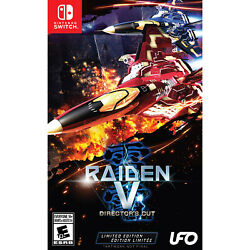 Raiden V: Director's Cut - Limited Edition Switch [Brand New]