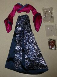 Fashion royalty Ayumi Rarest of All - Nu Face complete outfit only - new