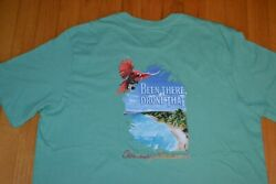 Tommy Bahama quot;Been There Drone Thatquot; T Shirt Men#x27;s Size Medium Color Geiser NWT $36.00