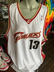 AUTHENTIC DELONTE WEST CAVS CAVALIERS ADIDAS HOME JERSEY 52 SEWN! Autographed