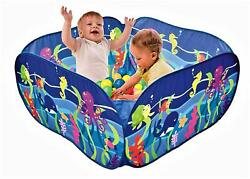 Playkidz: SeaWorld Kids Ball Pit Tent with Blue Zippered Storage Bag
