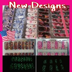 Color Nail Polish Strips $2.99 BUY 4 GET 2 FREE Similar to Color Street Wraps