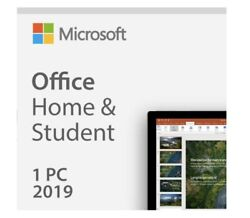 MICROSOFT OFFICE HOME AND STUDENT 2019- Binding  PC ONLY  Win 10Fast delivery