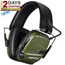 PRO Electronic Shooting Ear Muffs Rechargeable SNR 26dB Active Noise Reduction