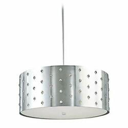 George Kovacs Chrome Finished Bling Bling Chandelier 4 Light Ceiling Mount $285.77