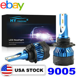 HB3 9006 9005 LED Headlight kit 72W 8000LM High Low Beam Bulbs Lamp 6000K White