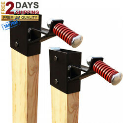 Premium 2x4 TARGET HANGER for Metal Steel Gongs Shooting Targets