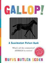 Gallop!: A Scanimation Picture Book by Seder Rufus Butler