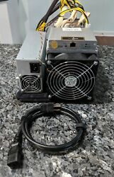 Antminer s9 13.5TH with APW3 PSU and Power Cable $425.00
