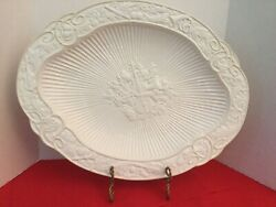 Lenox BUTLER'S PANTRY Fluted Oval Serving Platter **DISCONTINUED**Made In Italy