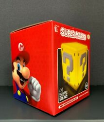 Super Mario Mini Question Block Light NIB $16.00