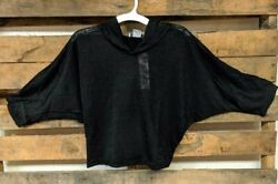 Girls#x27;s Batwing Sleeve Hooded Top by So Nikki...New with Tags. $6.99