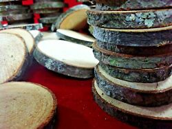 50 PINE  WOOD SLICES  3