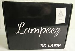 Lampeez Christmas Tree 3D Illusion Lamp with Color Modes FS-2823 - New in Box
