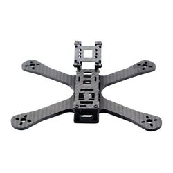 220mm Carbon Fiber RC Racing Drone Quadcopter Frame Body Kit 4mm Arms $38.77