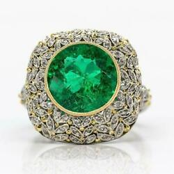 Platinum Diamonds and Gia Certified Emerald Ring