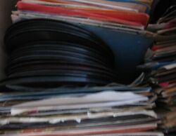 Lot of 60 Vinyl Record 45s Rock Pop Soul Country Etc