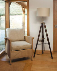 CLASSICAL Handmade Tripod FLOOR Shade LAMP CORNER LAMP HOME DECOR FLOOR LAMP $95.00