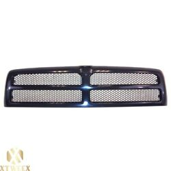 Black Grille w Honeycomb Mesh For 94 02 Dodge Ram Pickup Truck 1500 2500 3500 $51.45
