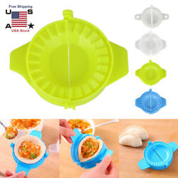 4Pcs Colorful Dumpling Maker Mould Dough Press Meat Pie Pastry Empanada DIY Tool