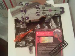 Transformers Siege on Cybertron TIDAL WAVE Loose Complete