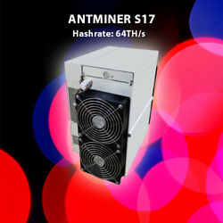 🔥 Antminer S17 64THs with PSU -BRAND NEW 🔥 batch December 2019