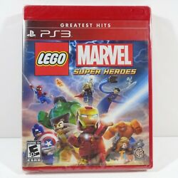 LEGO Marvel Super Heroes (Sony PlayStation 3 2013) Greatest Hits - NEW - SEALED