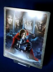BEST BUY EXCLUSIVE THOR BLU RAY STEELBOOK * BLU RAY DISC ONLY * DIGITAL CODE