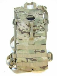 US Military Molle II OCP Multicam Hydration System Pouch Carrier Pre Owned $19.99