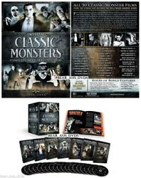 Universal Classic Monsters 30-Film Collection Complete 21 DVD Box Set Sealed New