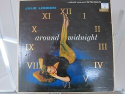 Around Midnight by Julie London.  LP Vinyl Liberty - LST-7164.  In Stereo!