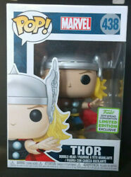 ***MINT*** Funko POP! Thor Classic #438 2019 ECCC Convention GameStop Exclusive