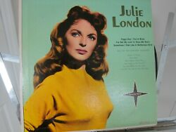 Julie London Tenderly Yours Vinyl Record Lp Alternate Cover with Ted Comstock