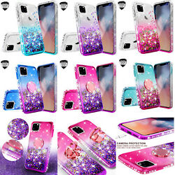 For Apple iPhone 1111 Pro11 Pro Max Case Ring Liquid Glitter Phone Cover Girls $12.99