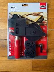 BESSEY VAS-23 Strap Clamp 2K W 4 Variable Angle Swivel Pads New