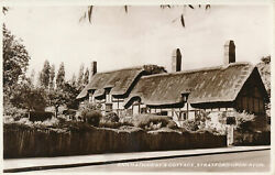 PC42009 Ann Hathaways Cottage. Stratford Upon Avon. D. Constance. RP. B. Hopkins GBP 6.75