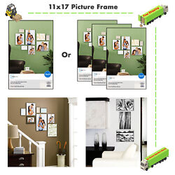 3-Piece Format Picture Frames W Glass 11