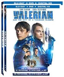 Valerian and the City of A Thousand Planets (DVD) Brand new factory sealed.