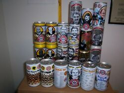PITTSBURGH STEELERS Beer Cans CHOICE Lambert Greene LOWEST PRICES!! Iron City