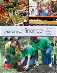 Personal Finance 11th Edition hardcover by Jack R. Kapoor  8818