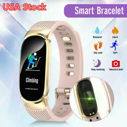 Fitness Smart Watch Activity Tracker Women Kids Fit for Android iOS Heart Rate #